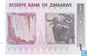 Bankbiljetten - Zimbabwe - 2007-2008 Third Dollar (ZWR) Issue - Zimbabwe 1 Dollar 2007