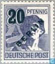 Briefmarken - Berlin - Aufdruck