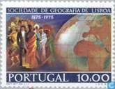 Postage Stamps - Portugal [PRT] - 100 years geographical Association