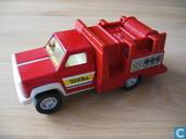 Modellautos - Tonka - Regular Tonka red firetruck labeled 606