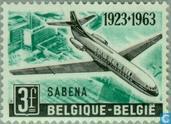 Briefmarken - Belgien [BEL] - Jubiläum SABENA