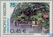 Postage Stamps - Andorra - Spanish - Europe – Water, treasure of nature
