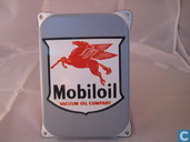 Emaille Reklamebord : Mobiloil