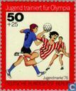 Postage Stamps - Berlin - Youth training for Olympics