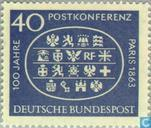 Postage Stamps - Germany, Federal Republic [DEU] - Post Conference Paris 1863