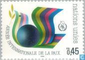 Postzegels - Verenigde Naties - Genève - Int. Jaar van de Vrede