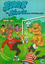 Strips - Sjors en Sjimmie - Sjors en Sjimmie als voetballers