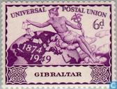 Briefmarken - Gibraltar - 75 Jahre UPU