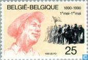 Postage Stamps - Belgium [BEL] - Labor Day 1890-1990