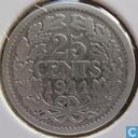 Nederland 25 cent 1911