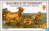 Postage Stamps - Guernsey - Goats