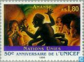 Postage Stamps - United Nations - Geneva - 50 years UNICEF
