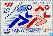 Postzegels - Spanje [ESP] - Paralympics