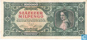 Ungarn 100.000 Milpengö