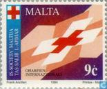 Postage Stamps - Malta - Red cross
