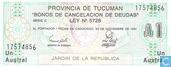 Bankbiljetten - Austral 1 - Argentinië 1 Austral 1991 (Tucuman)