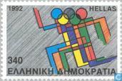 Timbres-poste - Grèce - Jeux olympiques