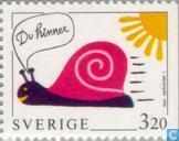 Postzegels - Zweden [SWE] - Groetzegels