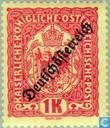 Postzegels - Oostenrijk [AUT] - Opdruk 'Deutschösterreich