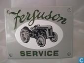 Emaille borden - Tractor Ferguson - Emaille Bord : Ferguson