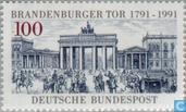 Postzegels - Duitsland, Bondsrepubliek [DEU] - Brandenburger Tor 1791-1991