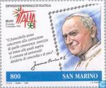 Postage Stamps - San Marino - Int. '98 Stamp Exhibition ITALIA