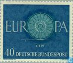 Postage Stamps - Germany, Federal Republic [DEU] - Europe – Spoked Wheel