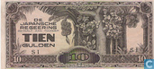 Banknotes - De Japansche Regeering - Dutch East Indies 10 Gulden