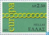 Postage Stamps - Greece - Europe – Rings