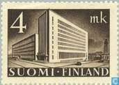 Postage Stamps - Finland - 400 Brown
