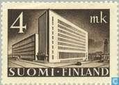 Timbres-poste - Finlande - 400 Brown