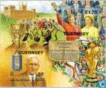 Postage Stamps - Guernsey - Football 1898-1998