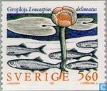 Timbres-poste - Suède [SWE] - Poissons d'eau douce rares