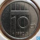 Munten - Nederland - Nederland 10 cent 1992