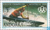Postage Stamps - Andorra - Spanish - Olympic Games