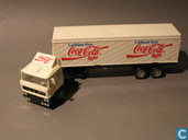 "Voitures miniatures - Solido - DAF F 2800 Turbo ""Caffeine Free Coca-Cola Light"""