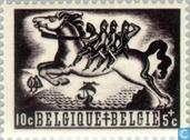 Postzegels - België [BEL] - Belgische legenden