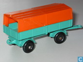 Model cars - Matchbox - Mercedes-Benz Trailer