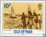 Postzegels - Man - Koningin Victoria- Regeringsjubileum