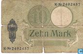 Banknotes - Reichskassenschein - Germany 10 Mark