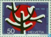 Postzegels - Zwitserland [CHE] - Winterhulp 50 jaar