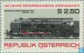 Postzegels - Oostenrijk [AUT] - Spoorwegen 140 jaar