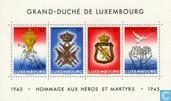 Postage Stamps - Luxembourg - Armistice 40 years