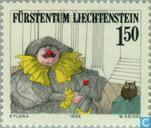 Briefmarken - Liechtenstein - Theater