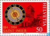 Postage Stamps - Switzerland [CHE] - Saint-Imier 1100 years