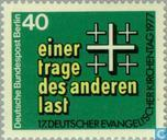 Briefmarken - Berlin - Deutscher Evangelischer Kirchentag