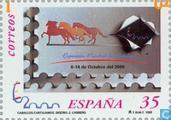 Postzegels - Spanje [ESP] - Postzegeltentoonstelling España 2000