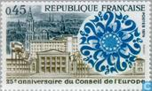 Postage Stamps - France [FRA] - Council of Europe