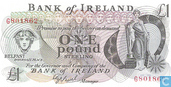 Banknotes - Bank of Ireland - Northern Ireland 1 Pound