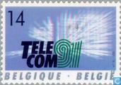 Postage Stamps - Belgium [BEL] - TELECOM '91